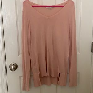 Loft pink sweater!